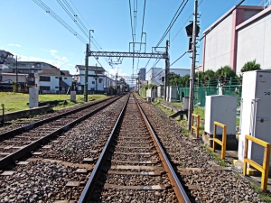 12 On the Track (between Shibasaki & Tsutsjigaoka