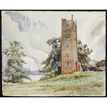 Freston Tower, Suffolk