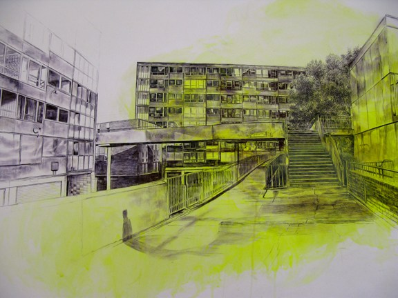 Laura Oldfield Ford  Heygate Estate