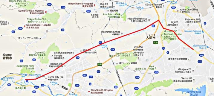 Nishi Sayamagaoka- Ome (Hatanaka)